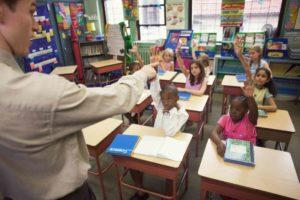 substitute teacher educational field
